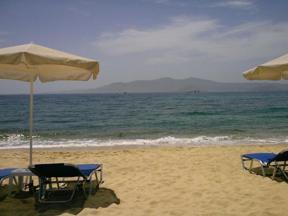 Naxos, Plaka-strand - (Griechenland, Reisezeit, Kykladen)