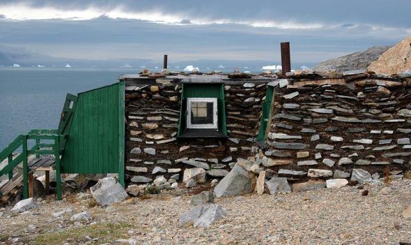 Das Haus des Weihnachtsmannes in Uummannaq / Grönland - (Europa, Reiseziel, Weihnachten)