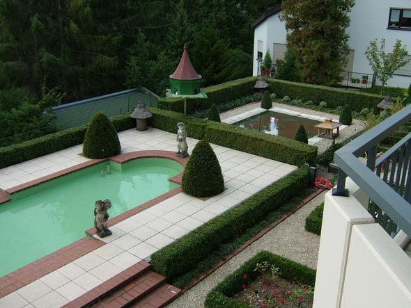 Villa Quisisana Blick in den Garten - (Deutschland, Hotel, Wandern)