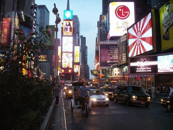 Times Square, New York Citiy - (USA, Amerika, New York)