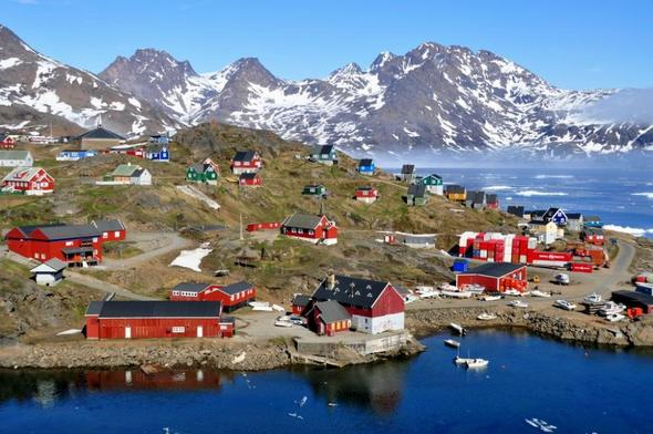 Grönland - (Reiseziel, weltweit, Flora)