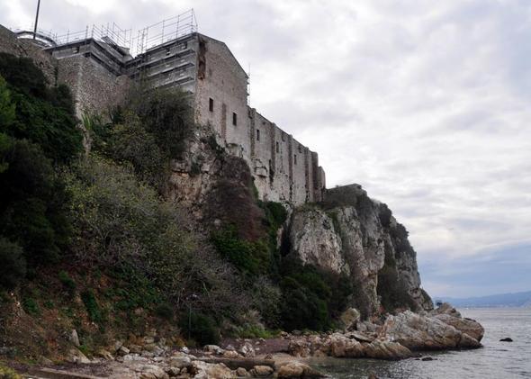 Ile Sainte Marguerite vor Cannes, Frankreich - (Frankreich, Mittelmeer, Cote d Azur)