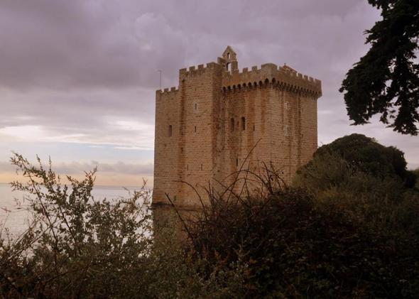 Ile Saint Honorat vor Cannes, Frankreich - (Frankreich, Mittelmeer, Cote d Azur)