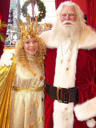 Der Nikolaus und das Christkind - (Jerusalem, Herkunft, Christkind)