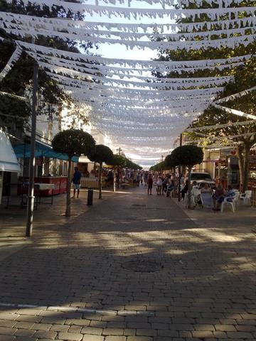 Arta während der Fiesta - (Spanien, Sehenswürdigkeiten, Mallorca)
