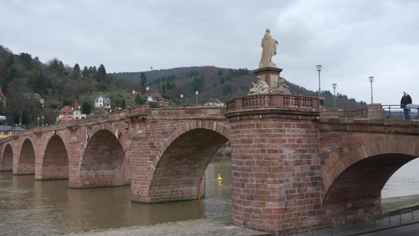 Brücke - (Deutschland, Sehenswürdigkeiten, Heidelberg)