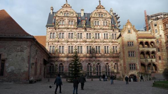 Schloß - (Deutschland, Sehenswürdigkeiten, Heidelberg)