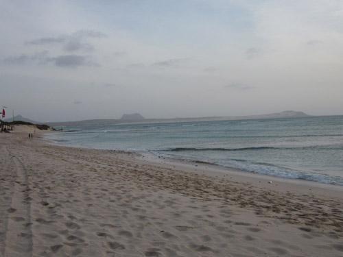 Strand Boa Vista - (Atlantik, Kapverden, Verbindung)