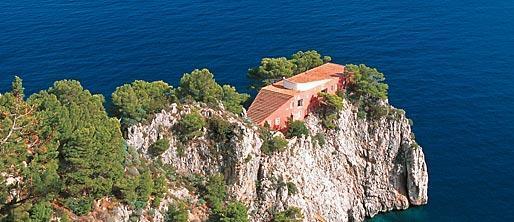 Casa Malaparte - Capri - (Italien, Sehenswürdigkeiten, Insel)