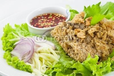 Cat Fish Salat - (Europa, Essen, Erinnerung)
