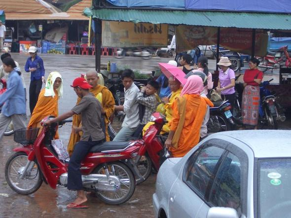 Kratie bei Regen - (Thailand, Kambodscha, Reiseland)