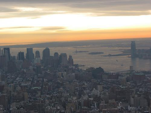 Ausblick Empire State Building - (USA, New York, Aussicht)