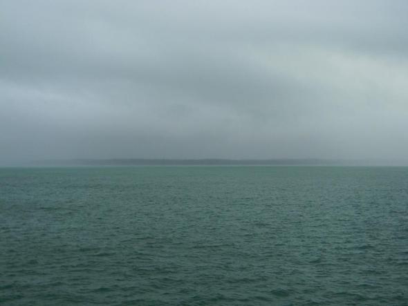Der Horizont ist nur zu ahnen... - (Kanada, Nordamerika, Insidepassage)