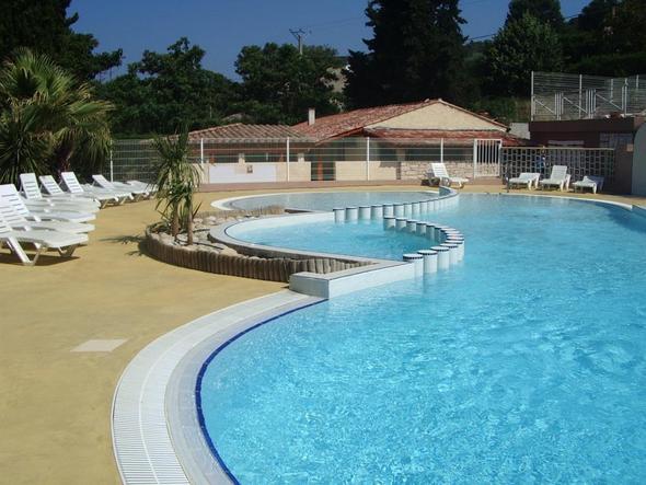 Pool/Campingplatz - (Spanien, Frankreich, Auto)
