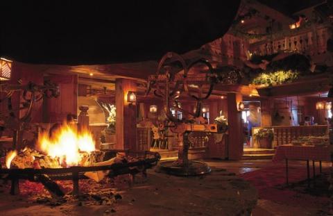 Hospiz Alm innen - (Restaurant, Skigebiet, Skihuetten)