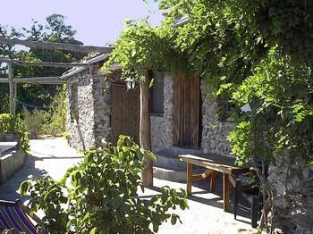 Haus in den Alpujarras - (Spanien, Mittelalter, kleine Städte)