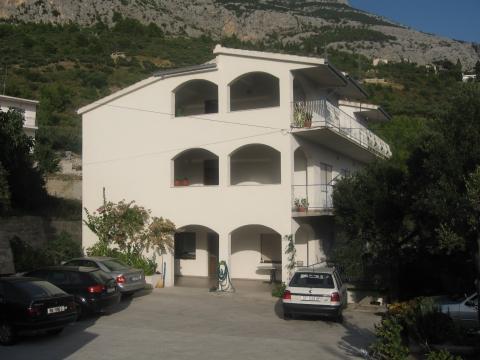 das ist das HAUS,jeder gast hatt auch seinen eigenen Parkplatz - (Kroatien, Party, Istrien)