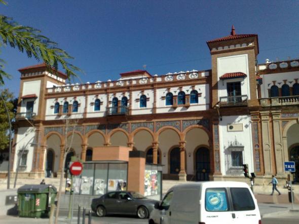 Bahnhof Jerez - (Spanien, Hostel, Backpacker)
