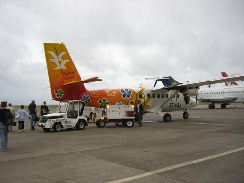 Flug Mahé - Praslin - (Afrika, Flugzeug, Buchung)