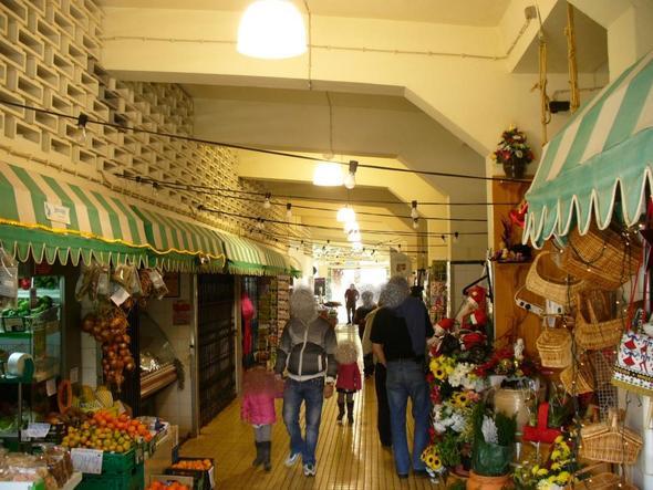 Mercado Municipal in Santa Cruz - (Insel, Winter, Portugal)