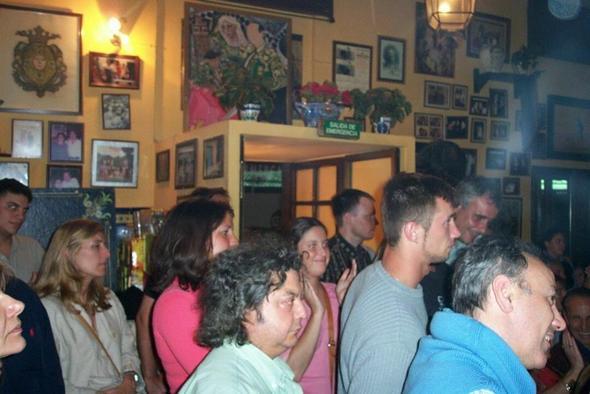 tapa bar sevilla - (Spanien, Fluggepaeck, Schinken)