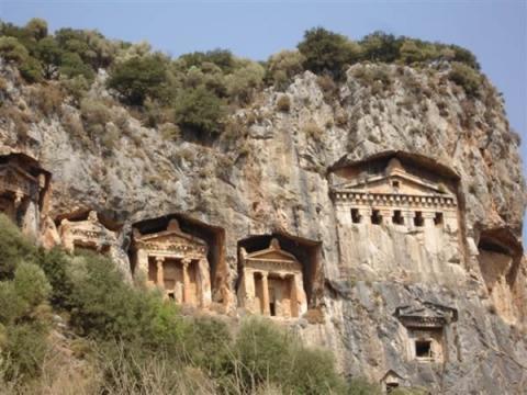 das ist dalyan - (Türkei, archaeologische-Staetten)