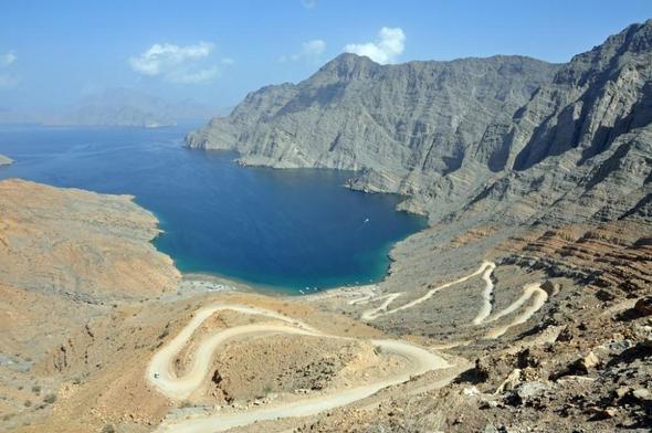 Nahe Khasab, Oman - (Oman, Persischer Golf, Arabische Halbinsel)