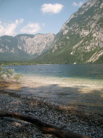 See von Bohinj - (Europa, Stadt, Slowenien)