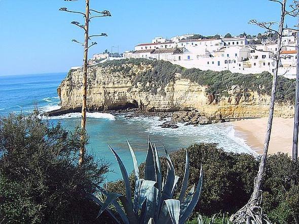 Praia do Carvoeiro - (Portugal, Algarve, ruhige Regionen)