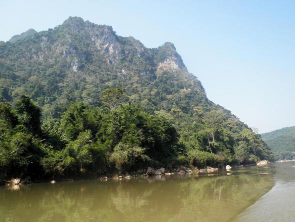 Nam Ou (Ou Fluss) - (Asien, Vietnam, Laos)