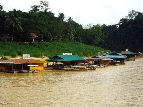 Bootsfahrt zur Taman Negara - (Asien, Malaysia, Reiseroute)