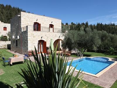 Zonera Villa - (Strand, Griechenland, Sommer)