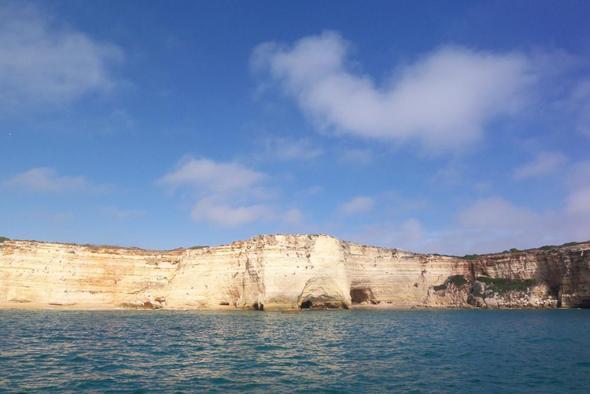 Küste bei Carvoeiro - (Wandern, Algarve, Weingut)