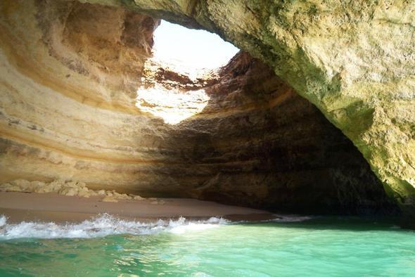 Meeresgrotten von Carvoeiro - (Wandern, Algarve, Weingut)