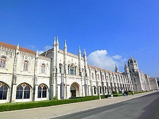 Kloster Hyronimus Lissabon - (Portugal, Mietwagen, Übernachtung)
