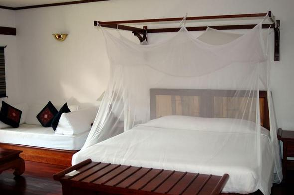 "Mein Zimmer im Hotel ""La Résidence Phou Vao"" Luang Prabang - (Hotel, Asien, Wellness)"