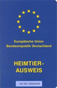 EU-Pet-Passport oder Heimtierausweis - (Flug, Kosten, Hund)