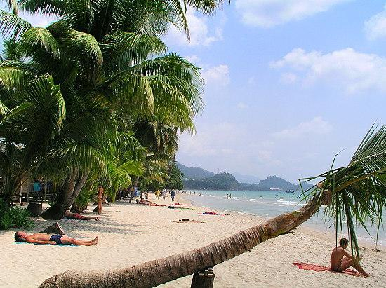 Kho Chang bei Trat in Thailand - (Insel, Thailand, Strand)
