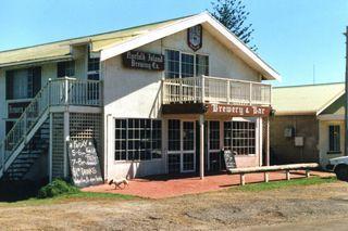 Die einzige Kneipe in Norfolk Island - (Insel, Neuseeland, Fähre)