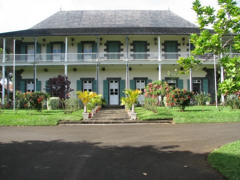 Kolonialvilla - (Sehenswürdigkeiten, Mauritius)