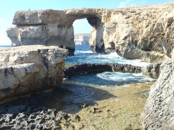 Das Blue Hole auf Gozo - (Europa, Reiseziel, Küste)