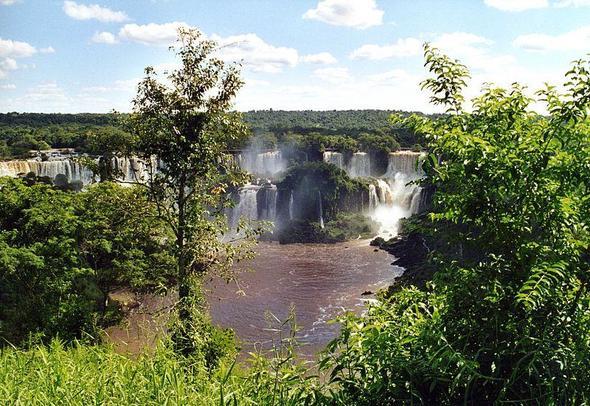 Iguassu Fälle - (Brasilien, Mittelamerika, Argentinien)