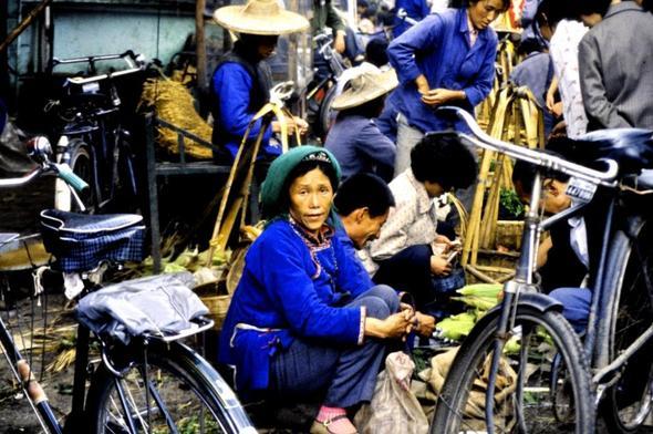 Auf dem Markt - (Asien, Sehenswürdigkeiten, China)
