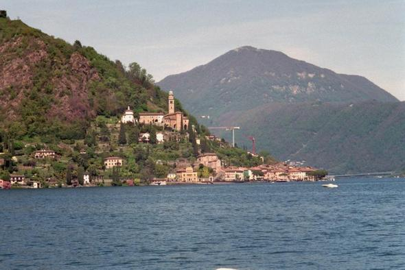 Morcote - (Italien, Boot, Motorboot)