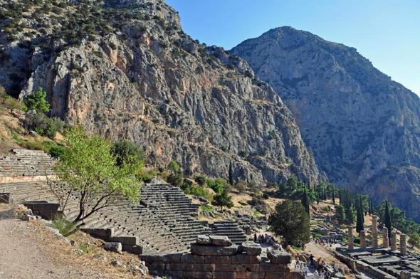 Delphi, Griechenland - (Griechenland, Besichtigung, sehenswert)