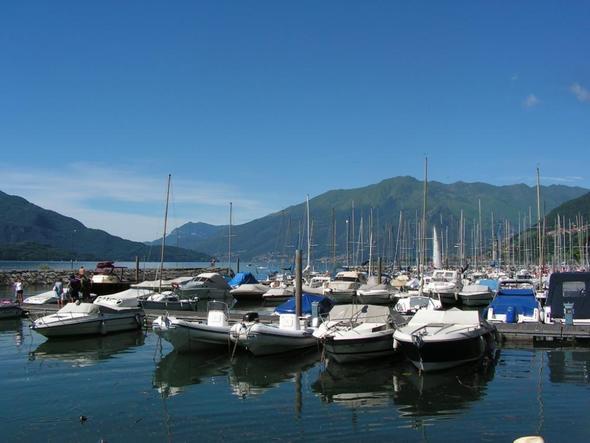 Bootshafen Gera Lario - (Italien, Familienurlaub, See)