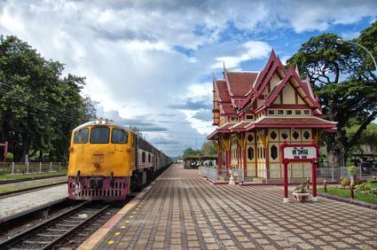 Mit dem Zug durch Thailand - (Asien, Thailand, Flugreise)