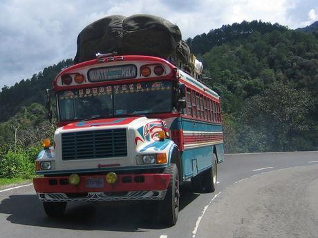 Im ADO bus schaut es wesentlich bequemer aus  - (Amerika, Lateinamerika, Rundreise)