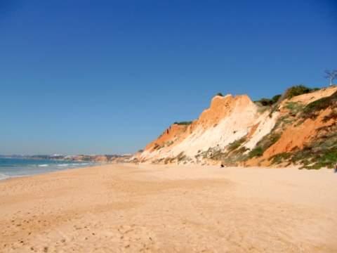 Praia Falesia - (Auto, Portugal, Strandurlaub)