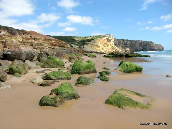 Praia Zavial - (Auto, Portugal, Strandurlaub)